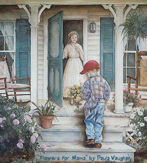 enfant-bouquet-mere