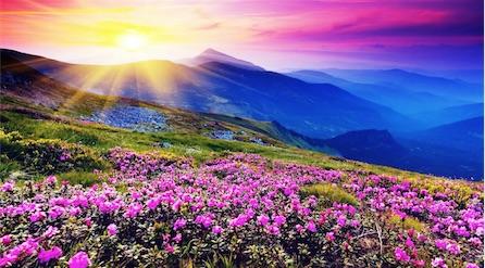 soleil-montagne