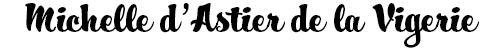 Michelle d'Astier de la Vigerie Logo